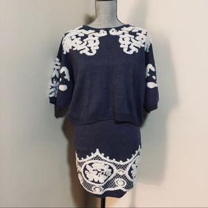 2 Piece Sweater & Skirt Set
